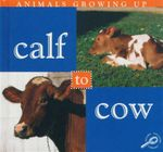 Calf To Cow : Animals Growing Up - Jason Cooper