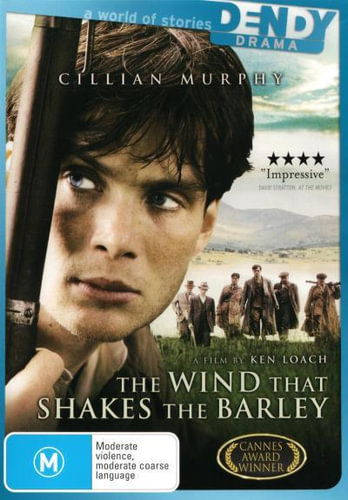 NEW-The-Wind-That-Shakes-the-Barley-DVD-Free-Shipping