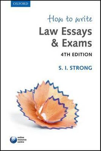 How to write law essays and exams strong