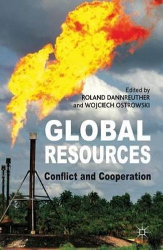 NEW Global Resources By Roland Dannreuther Hardcover Free Shipping