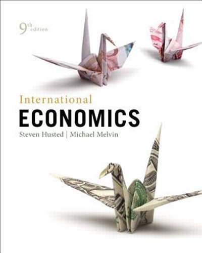 NEW International Economics By Steven L. Husted Hardcover Free Shipping