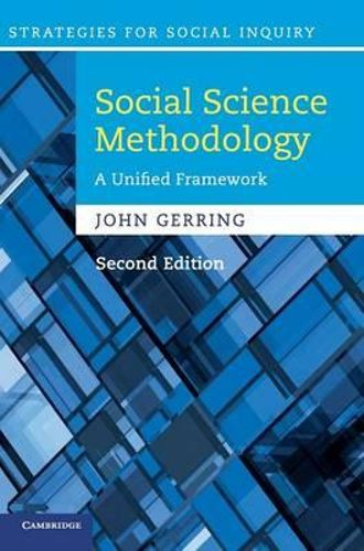 NEW Social Science Methodology By John Gerring Hardcover Free Shipping