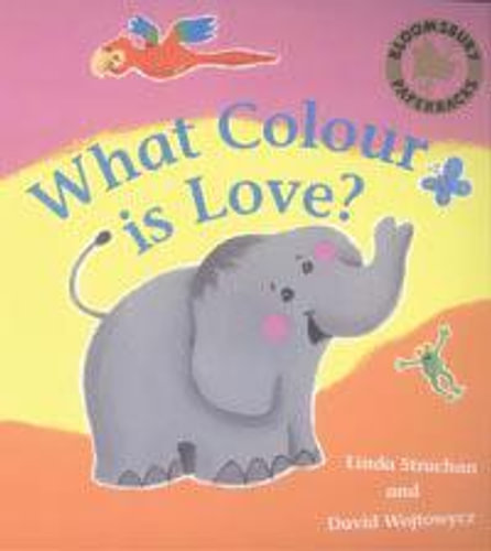 NEW-What-Colour-is-Love-By-Linda-Strachan-Paperback-Free-Shipping