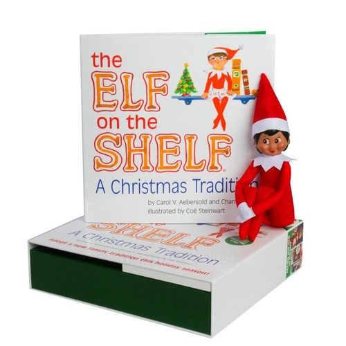 new the elf on the shelf a christmas tradition by carol. Black Bedroom Furniture Sets. Home Design Ideas