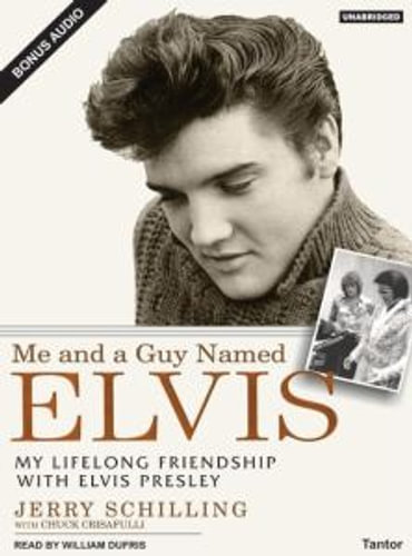 NEW-Me-and-a-Guy-Named-Elvis-By-Jerry-Schilling-Audio-CD-Free-Shipping