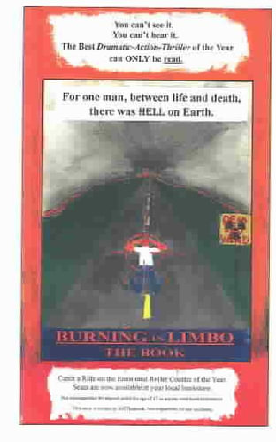 NEW-Burning-in-Limbo-By-Jeff-Heckrodt-Paperback-Free-Shipping