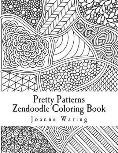 Pretty Patterns Colouring Book : New pretty patterns zendoodle coloring book by joanne
