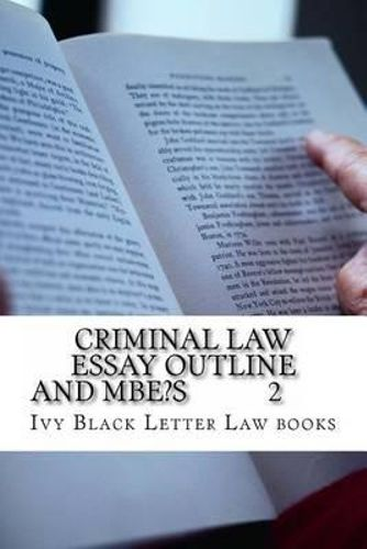 politics and criminal law essay What role do politics play in formulating criminal justice thus it may seem at times that politics influences criminal justice policies they make law as.