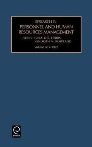 NEW Research in Personnel and Human Resources Management By Gerald R. Ferris