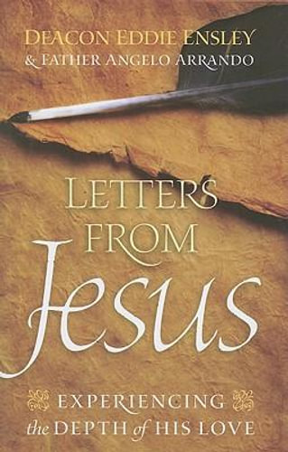 NEW Letters from Jesus By Eddie Ensley Paperback Free Shipping