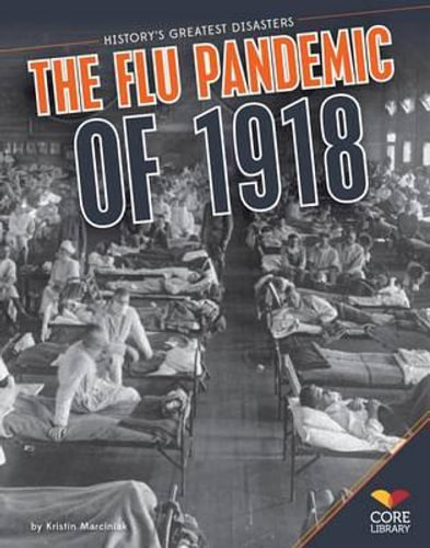 NEW Flu Pandemic of 1918 By Kristin Marciniak Paperback Free Shipping