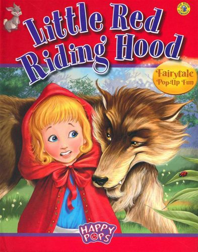 Children S Book Covers Posters : New little red riding hood by the book company pop up