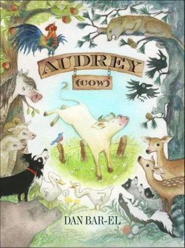 NEW Audrey (Cow) By Dan Bar-el Hardcover Free Shipping