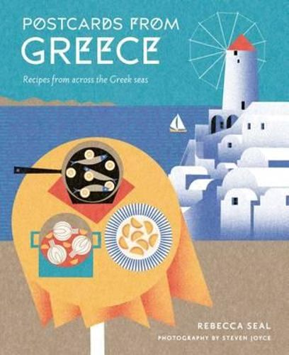 NEW Postcards from Greece By Rebecca Seal Hardcover Free Shipping