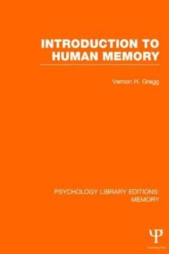 an introduction to the study of human memory The information processing theory is a cognitive approach to understanding how the human mind computers were introduced to the study of development and provided a new way of r c, & shiffrin, r m (1968) human memory: a proposed system and its control processes the.
