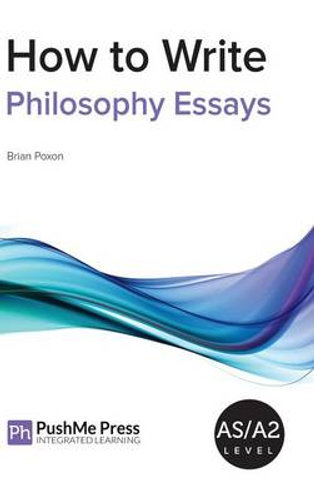 How to write a philosophy paper pryor