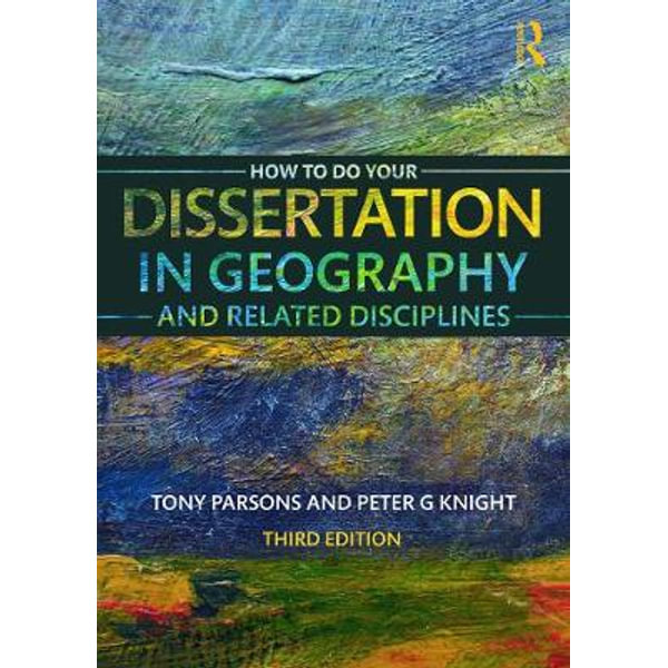 geography dissertation The geography dissertations created by students will be assessed against the following criteria, the complete fulfillment of which ensures 1st class or 2:1 standard grade in geography dissertation.