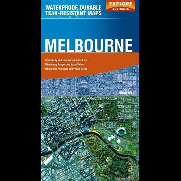Booktopia Explore Australia Polyart Road Map Melbourne – Explore Australia Map