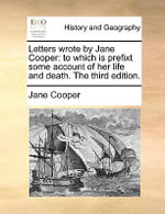letters wrote by jane cooper