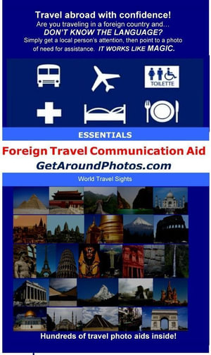 Get Around Photos : Foreign Travel Communication Aid - CP McKell