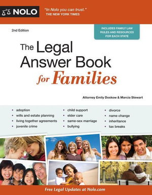 Legal Answer Book for Families, The - Emily Doskow