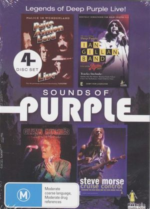 Sounds of Purple  : Legends Of Deep Purple Live! - 4 Discs Set - Deep Purple