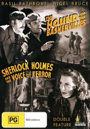 Sherlock Holmes and the Hound of the Baskervilles / Sherlock Holmes and the Voice of Terror : Double Feature - Reginald Denny