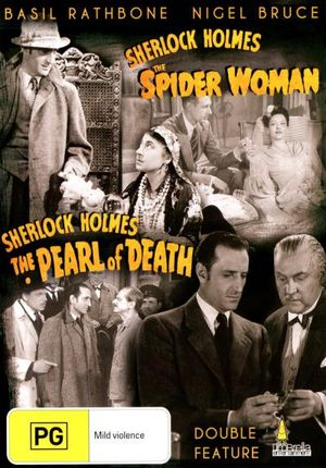 Sherlock Holmes And The Spider Woman / Sherlock Holmes And The Pearl Of Death : Double Feature - Miles Mander