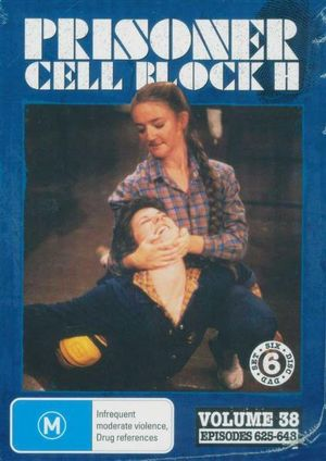 Prisoner Cell Block H : Volume 38 - Episodes 625 - 548 (6 Disc's)