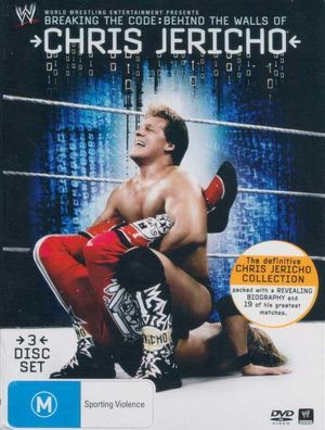Breaking The Code : Behind The Walls of Chris Jericho : WWE : 3 Disc Set - Chris Jericho