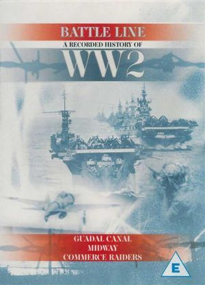 Battleline DVD- Recorded History of WW2 : Guadal Canal, Midway, Commerce Raiders
