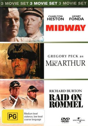 MacArthur / Midway / Raid on Rommel - Ward Costello