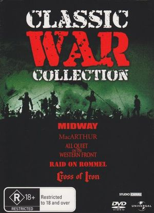 Classic War Collection (All Quiet on the Western Front / Cross of Iron / MacArthur / Midway / Raid on Rommel) - Danielle De Metz