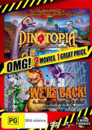 Dinotopia Quest For The Ruby Sunstone Were Back A Dinosaur Story