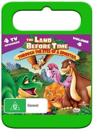 The Land Before Time : Volume 4 - The Eyes of Spiketail (Handle Case)