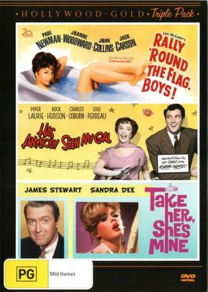 Rally Round the Flag Boys / Has Anybody Seen My Gal / Take Her, She's Mine : Hollywood Gold Triple Pack - James Stewart