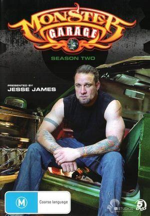 Booktopia monster garage the complete season 2 by jesse - Jesse james monster garage ...