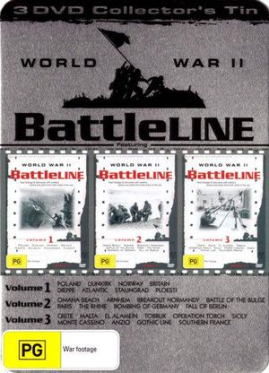 Battleline World War II (Collector's Tin) - Jim Bishop