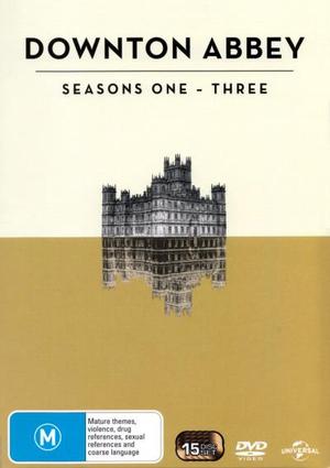 Downton Abbey : Seasons 1 - 3 (15 Discs) - Lesley Nicol