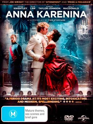 Anna Karenina (2012) (DVD/UltraViolet) - Aaron Taylor-Johnson