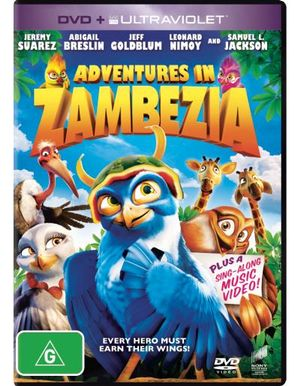 Adventures in Zambezia (DVD/UV) - Jeremy Suarez