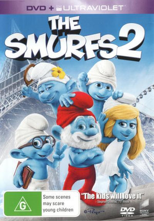 The Smurfs 2 (DVD/UV) - Hank Azaria