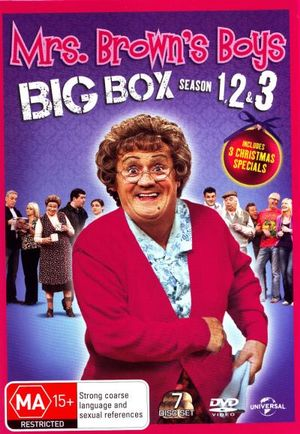 Mrs Brown's Boys : Seasons 1 - 3 and 3 Christmas Specials - Paddy Houlihan