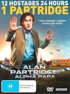 Alan Partridge : Alpha Papa (DVD/UV) - Steve Coogan