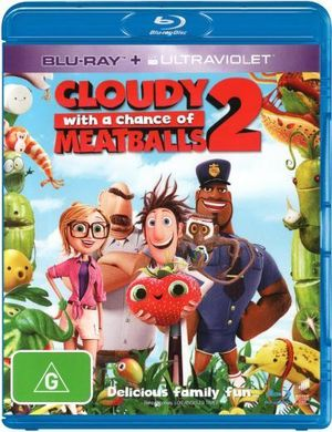 Cloudy With a Chance of Meatballs 2 (Blu-ray/UV) - Bill Hader