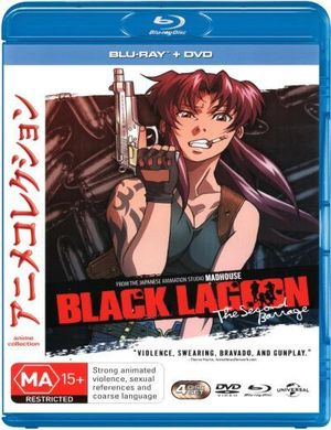 Black Lagoon : The Second Barrage - Series 2 (Blu-ray/DVD) - Youichi Nishijima