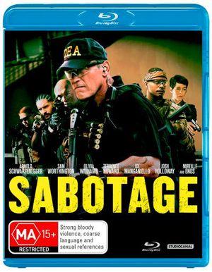 Sabotage (2014) (Blu-ray/UV) - Arnold Schwarzenegger