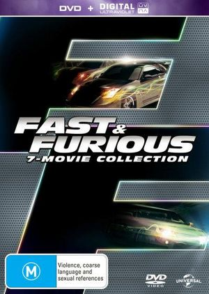 fast and furious 7 movie collection dvd uv on dvd buy new dvd blu ray movie releases from. Black Bedroom Furniture Sets. Home Design Ideas