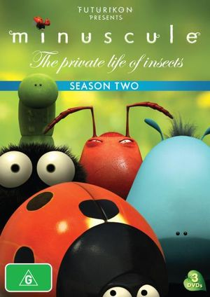 Minuscule : The Private Life of Insects - Season 2 (3 Discs)