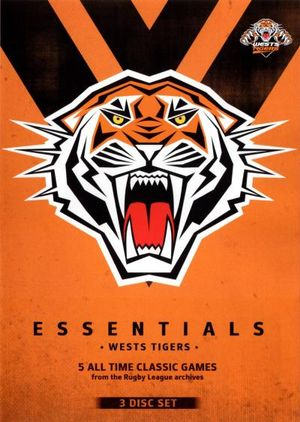 NRL Essentials : Wests Tigers (3 Discs) - Ray Warren